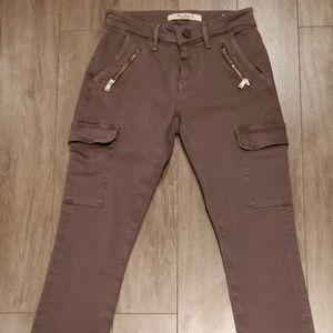 Mavi Juliette Mid Rise Skinny Cargo Jeans Women's